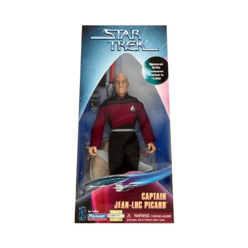 (Star Trek Spencer Gifts Exclusive the Next Generation Captain Jean-Luc Picard 9 inch Figure)