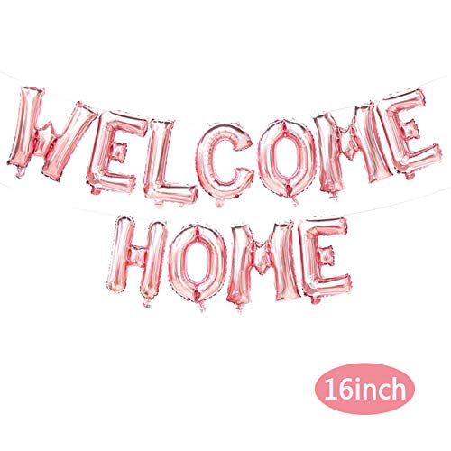 Welcome Home Balloons Banners Welcome Home Balloons Letters - Welcome Home Party Decorations - Family Party Supplies -
