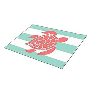 EUDDP Doormat Striped Summer Door Mate