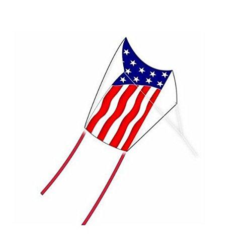"""X-Kites Super Sled Nylon Flag Kite, 18 x 15"""""""