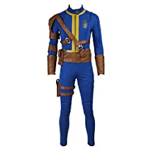 CosplayDiy Men's Suit for Game Fallout 4 Survivor Nate Cosplay