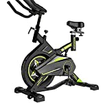 ZoSiP-Spin-Bike-Casa-Coperta-Ultra-Silenzioso-Cyclette-Indoor-Cycling-Cardio-Work-out-Ciclo-8kg-volano-Color-Black-Size-111x51x120cm