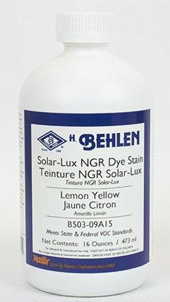 Solar-Lux NGR Dye Stain (1 Pint, Lemon Yellow) - Dye Lemon