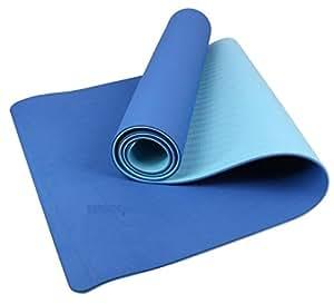 ZHANGHAOBO Manta De Yoga De Dos Colores Manta De Fitness Ecológica De Caucho Antideslizante,A2