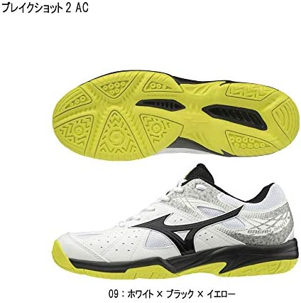 /ミズノ テニスシューズ ブレイクショット2AC MIZUNO 61GA194009 オールコート向き 2019年モデル