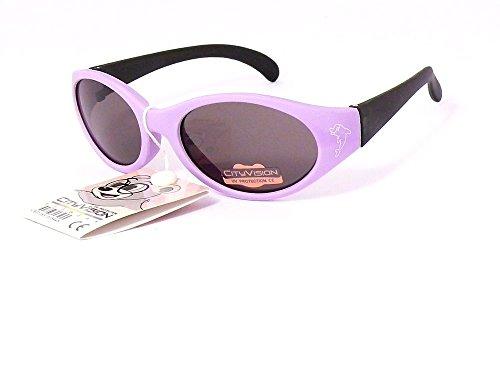 lunettes de soleil enfant garçon 2 3 4 5 ans 078006 monture mauve