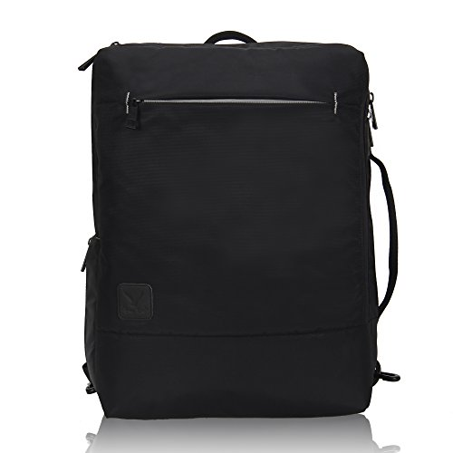 Convertible Travel Laptop Backpack Daypack Bag Fit 15.6 Inch Briefcase Messenger Backpack for Men Women by ShowRoom16