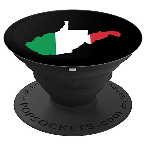 Virginia Italian - West Virginia Italian Italy Flag - PopSockets Grip and Stand for Phones and Tablets