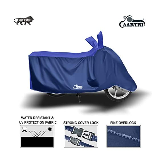 Blue Tree Premium Water Resistant Bike Body Cover for Two Wheeler Body Cover Special Design for Honda Activa 6G Standard