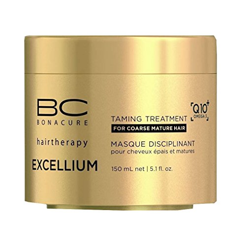 BC Bonacure EXCELLIUM Taming Treatment with Q10+ Omega-3, 5.07-Ounce