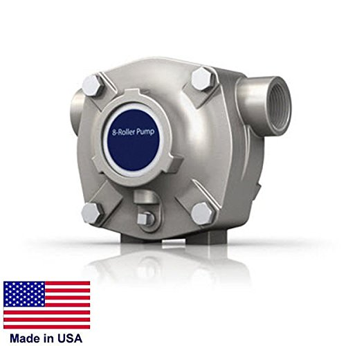8 Roller Pump - Commercial - Stainless Steel - 24 Gpm - 300 Psi - - 300 Ctr