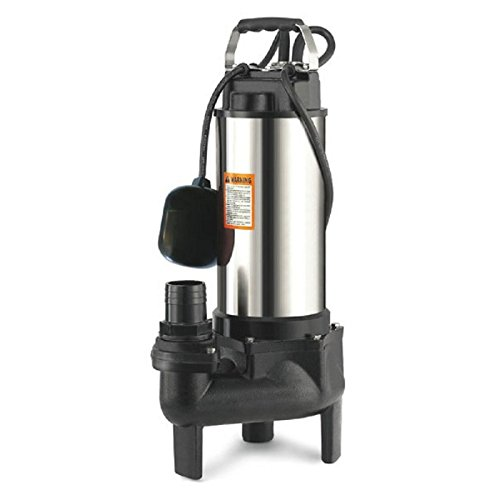 Ribimex Pompe De Relevage Eaux Charges 1500W