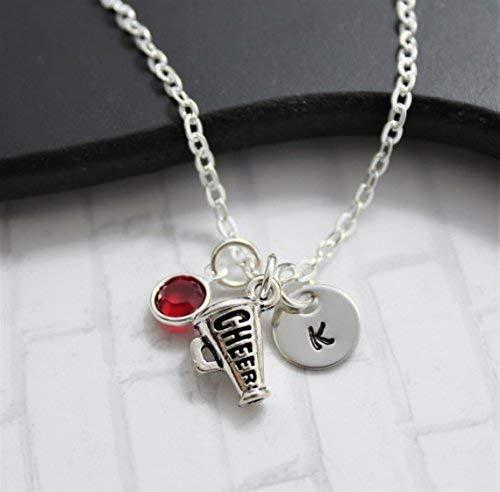 Cheer Megaphone Necklace - Cheerleading Jewelry - Cheer
