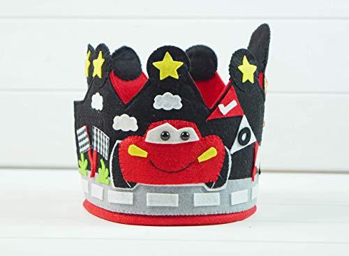 Corona Cumpleaños Cars