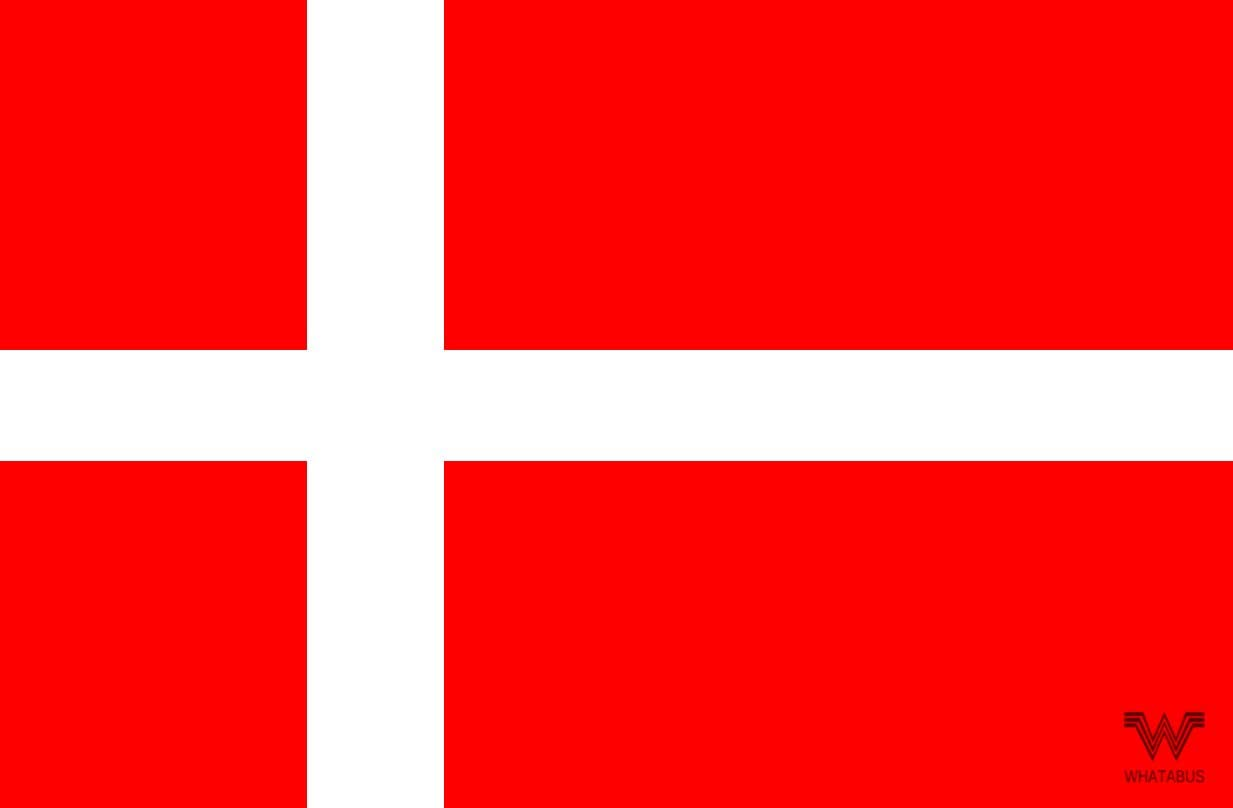 Whatabus Dänemark Flagge Aufkleber Länderflagge Als Sticker 8 5 X 5 5 Cm Auto
