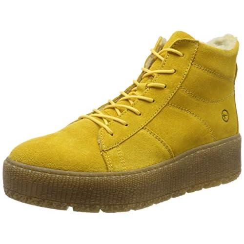 chollos oferta descuentos barato Tamaris 1 1 26096 23 Botas Altas para Mujer Amarillo Saffron 627 37 EU