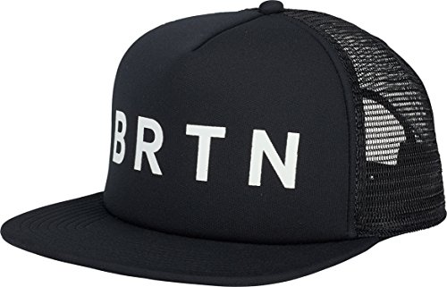 Burton I-80 Snapback Trucker Hat, True Black W18, One Size ()