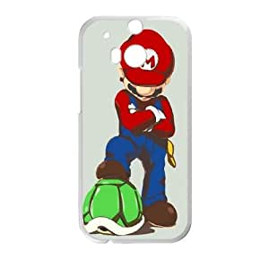Mario poster HTC One M8 Cell Phone Case White phone component RT_385501
