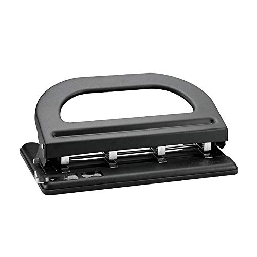 Hole Punchers Punch Paper Puncher 4-Hole Adjustable Punching Machine (Drilling 30 Pages) Manual Punching Machine for School, Home and Office