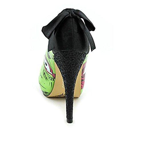 Stomper Iron Fist Green Zombie Femmes Chaussures Platform ECvRqZwC4