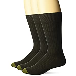 Gold Toe Men's Canterbury Extended Sock,3 Pack