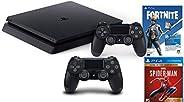 Holiday Family Bundle Sony Playstation 4 1TB Slim- Jet Black