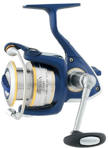 Daiwa Team Daiwa Tierra Spin Reel 8 1 BB 4.7 to 1 Gear Ratio 210yd 12lb TDTR3500