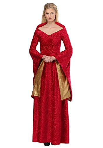 Lion Queen Women's Costume Medium Red -