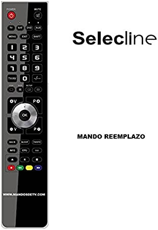 Mando TV SELECLINE 815834-S22: Amazon.es: Electrónica