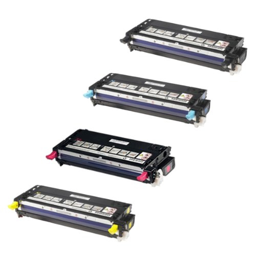 Dell 3115 MFP Toner Cartridge Set  Black. Cyan. Magenta. Yel