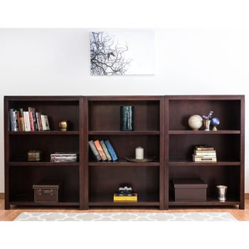 Pacifica 3 Piece 47u0026quot; Bookcase Wall(ships In ...
