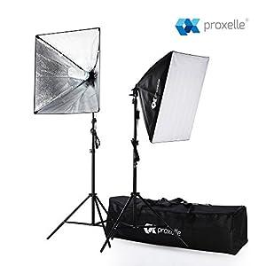 700W Photography Softbox Studio Lighting Kit 24 X24  Proxelle Professional Photography Soft Box Light Set Photo Shoot Standing Lights Equipment for ...  sc 1 st  Amazon.com & Amazon.com : 700W Photography Softbox Studio Lighting Kit 24
