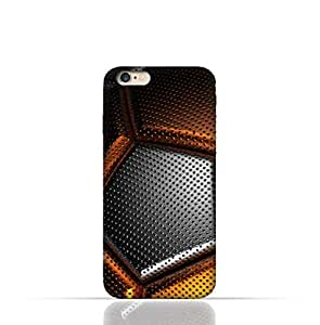 Apple iPhone 7 TPU Silicone Case with Soccer Ball Texture Pattern