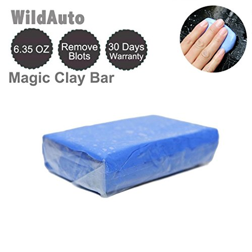 WildAuto 180 Grams Magic Clay Bar for Clean Car to Remove Sludge by (1PC, Blue)