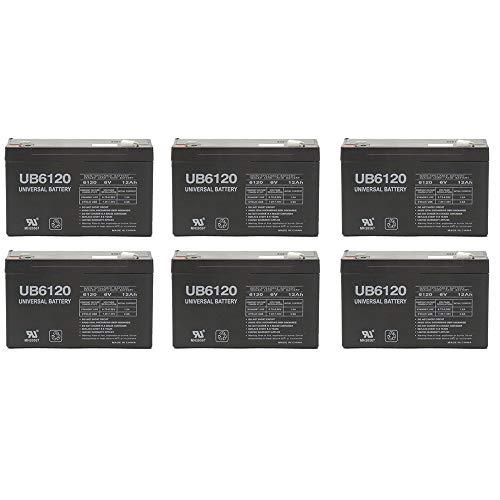 - Universal Power Group 6V 12AH F2 Battery TRIPP LITE OMNISMART 1050-6 Pack