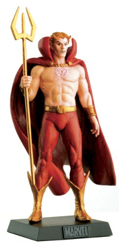 Eaglemoss Classic Marvel Figurine Collection #134 Hellstorm Son of Satan Lead Figurine and Magazine - Lead Figurine Magazine