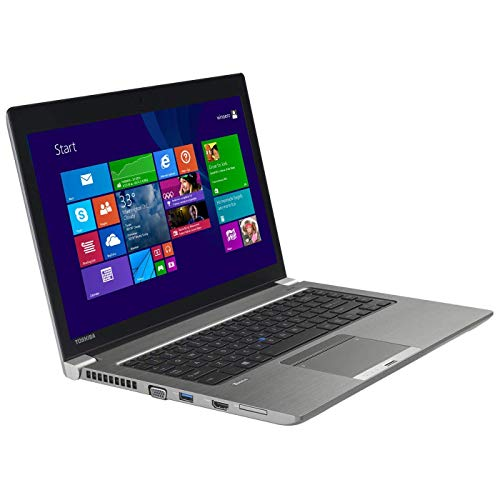 Toshiba Tecra Z40-B 14in LED HD Laptop Intel i7-5600U Dual Core 2.6GHz 16GB 128GB SSD - Silver - PT45GU-00S008 (Renewed) (Laptop Toshiba Windows)