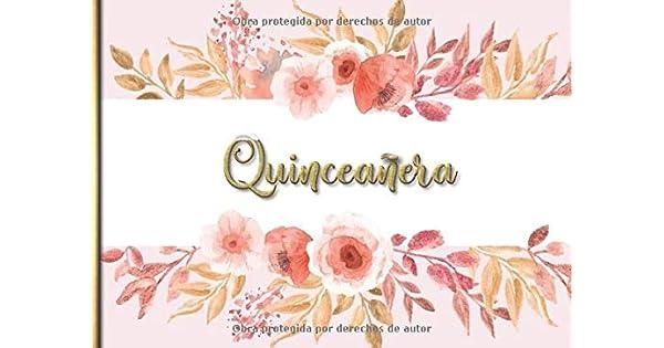 Amazon.com: Quinceañera: Libro de firmas para Quinceañera ...