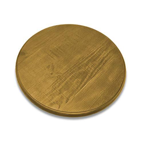 Artefama Furniture Phill Lazy Susan Spinning Platter, Oak Color
