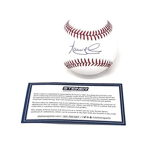 Aaron Nola Phildelphia Phillies Signed Autograph Official MLB Baseball Steiner Sports Certified