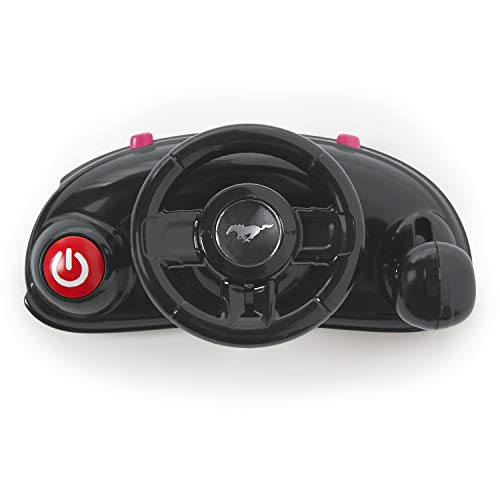 413Zo59u2QL - Bright Starts 3 Ways To Play Walker, Ford Mustang Pink, 6 Months Plus