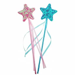 Bilipala fairy princess magic wand star wands for Princess wand craft kit