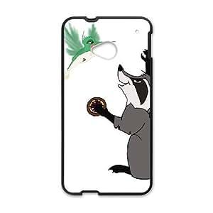 HTC One M7 Phone Case Black Pocahontas Flit DYW5161271