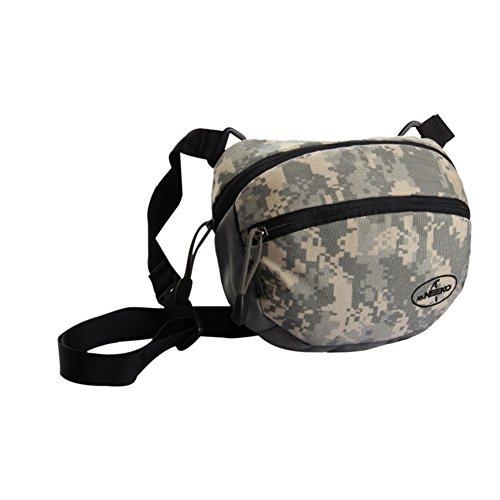 bolsillos correr al aire libre / impermeables bolsillos deportivas / bolsa de excursión que acampa-rojo gris