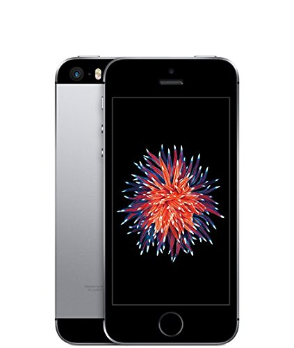 Apple iPhone SE 16GB Factory Unlocked LTE Smartphone - Space Gray (Certified Refurbished)