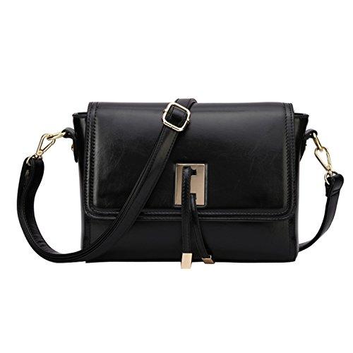 Style Large Small Women's Capacity Black Tote Yiji Bag Euro Crossbody UBtExwq