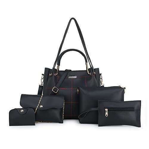 Meridian Women Shoulder 5pcs Combo Bag