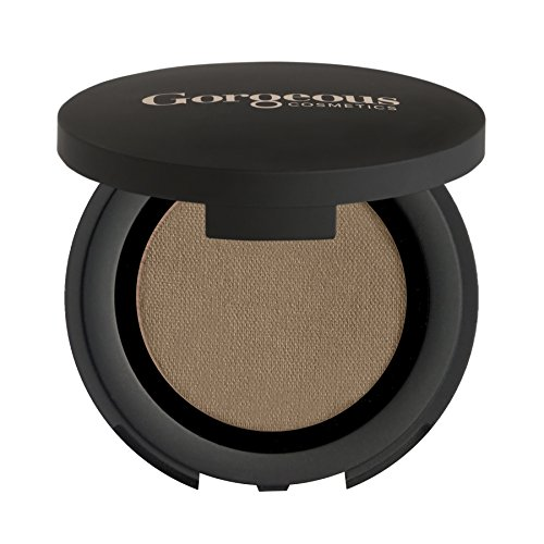 Gorgeous Cosmetics Colour Pro Eyeshadow, Pressed Powder, High Pigment Eyeshadow, Single in Compact with Mirror,  Shade Dune