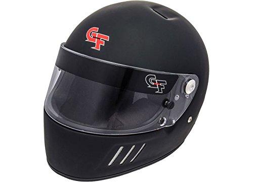 - G-Force 3123LRGMB GF3 Full Face Helmet, Matte Black, Large