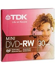 TDK Mini DVD-RW 30 Minutes for DVD Camcorders